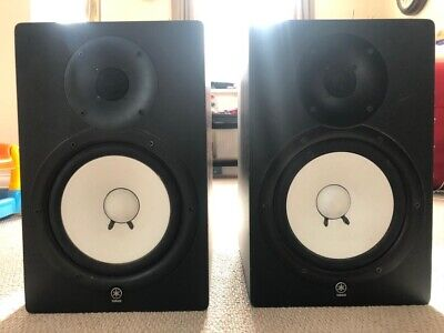 Yamaha HS80 Active Studio Monitor PAIR With Insulation Pads • 449£