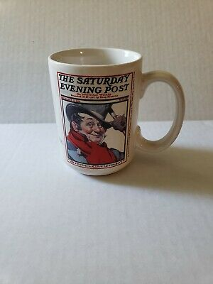 $ CDN7.50 • Buy Norman Rockwell  Saturday Evening Post  Coffee Mug Christmas Collection