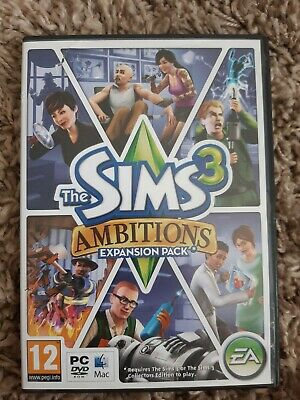 The Sims 3 PC Game Ambitions Expansion Pack  • 1.99£