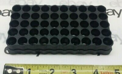 $ CDN1.33 • Buy 9mm X 50 Black Ammo Stackable Tray Falcon Plastic PRS-021  HPACTRAYSMALL S
