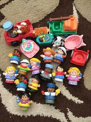 FISHER PRICE LITTLE PEOPLE DIFFERENT PEOPLE FIGURES  Job Lot • 4.99£