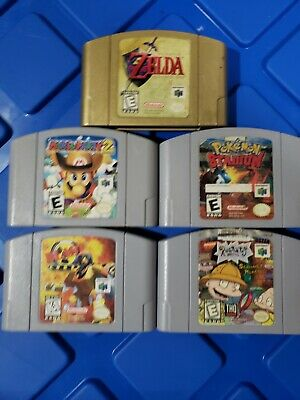 $ CDN199 • Buy N64  Authentic Video Game Lot  (Tested)***