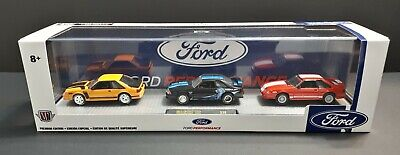 $ CDN49.98 • Buy 1/64 M2 Machines  🇺🇸 1988 & 87 Ford Mustang GT - Custom 3 Car Set + 1 Gift 🎁
