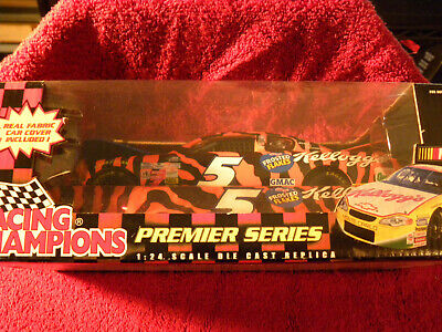 $21.99 • Buy Racing Champions Tery Labonte #5 Kelloggs Frosted Flakes With Car Cover 1/24