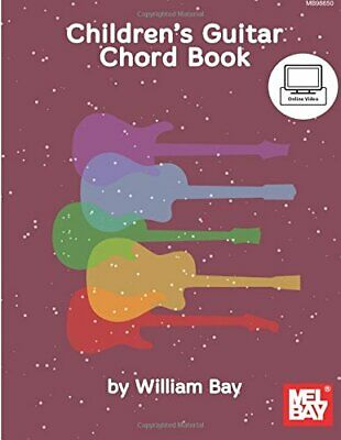 Mel Bay Childrens's Guitar Chord Book • 2.47£