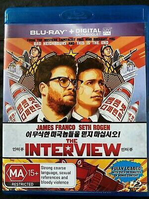 AU6.50 • Buy The Interview - Blu Ray - James Franco - Seth Rogen - Free Postage - Used
