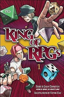 King Of RPGs 1 By Jason Thompson | Book | Condition Very Good • 2.68£