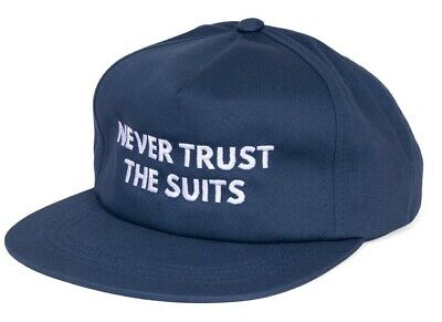 $ CDN31.51 • Buy Shadow Conspiracy The Suits Snapback Hat Subrosa Supreme Vans Obey Blue New