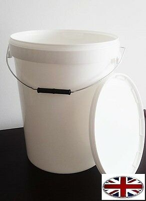 25l Fermentation Bucket With Airlock  High Quality • 13.99£