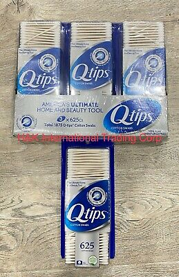 $ CDN13.75 • Buy 1 Pack 625 Count   Q-tips Cotton Swabs  Made In USA