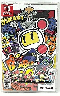 AU52 • Buy Super Bomberman R Nintendo Switch Brand New Sealed