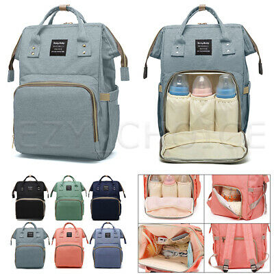 AU28.99 • Buy Multifunctional Baby Diaper Backpack Waterproof Large Mummy Nappy Changing Bag