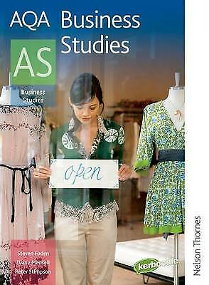 AQA Business Studies AS (Aqa For As), Diane Mansell,Steven Foden,Peter Stimpson  • 1.95£