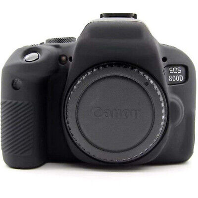 For Canon EOS 650D 750D 800D 600D 5D4 Camera Silicone Armor Skin Case Body Cover • 18.92£