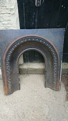 Cast Iron Victorian Style Fireplace Insert • 19.99£