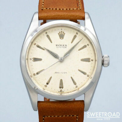 $ CDN6005.67 • Buy Rolex Ref.6424 Vintage Cal.1210 Big Oyster Manual Winding Mens Watch Auth Works