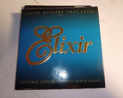 $ CDN12.75 • Buy Elixir Guitar Strings Super Light VINTAGE 1997