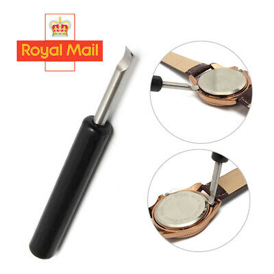 £4.49 • Buy Metal Watch Back Case Cover Remover Battery Opener Pry Lever Snap Repair Tool M