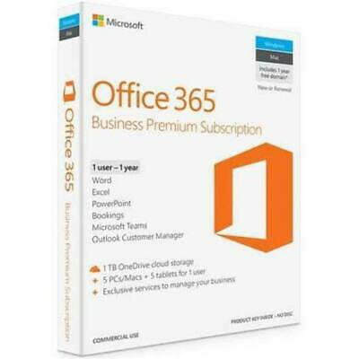 AU196.10 • Buy Microsoft Office 365 Business - Premium 1 Year Subscription Medialess