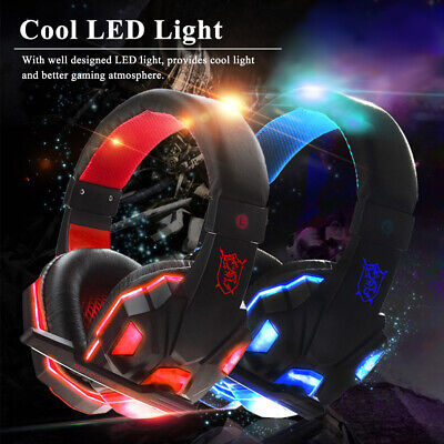Gaming Headset Headphone For PC Laptop With Microphone With USB 3.5mm Interface • 11.88£