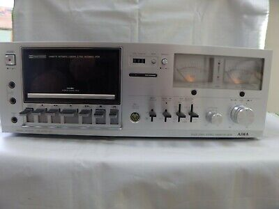 Aiwa AD-6500 Solid State Cassette Deck DIN 45 500 Guaranteed Analogue Indicator • 339.99£