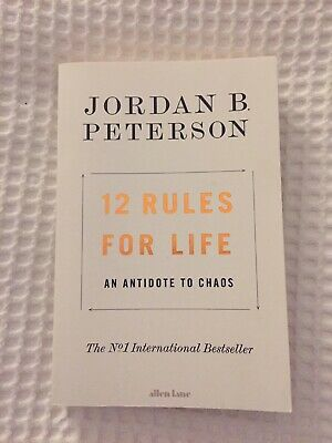 AU18 • Buy 12 Rules For Life Jordan Peterson *Free Postage*