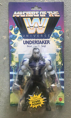 $32 • Buy Masters Of The WWE Universe Undertaker Action Figure - NEW *IN-HAND*