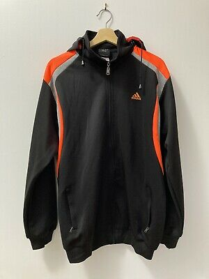 AU34.95 • Buy 90's Adidas Track Jacket With Removable Hood Size Men's XL