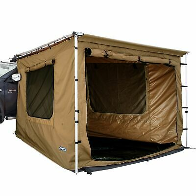 AU199 • Buy Adventure Kings Awning Tent 2mx3m Waterproof Enclosed Floor Roof Shade Shelter