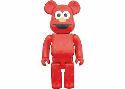 $211 • Buy Medicom Be@rbrick Bearbrick Sesame Street Elmo 400% Figure Brand New
