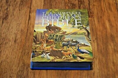The Complete Illustrated Childrens Bible NEW Free UK Delivery • 21.95£