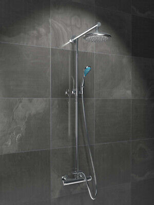 Tenbury Thermostatic Mixer Shower, Sps100 Chrome Low Or High Pressure • 175£