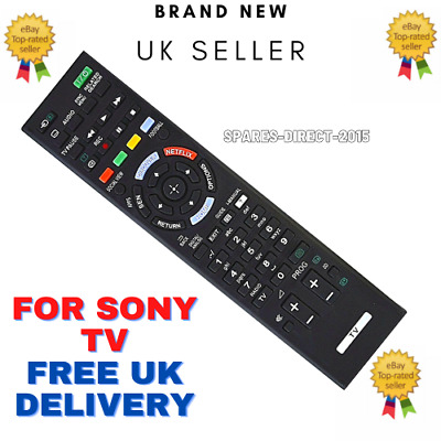 £5.90 • Buy For Sony Bravia RM-YD102 RM-ED058 RMED058 Netflix 3D TV Remote Control