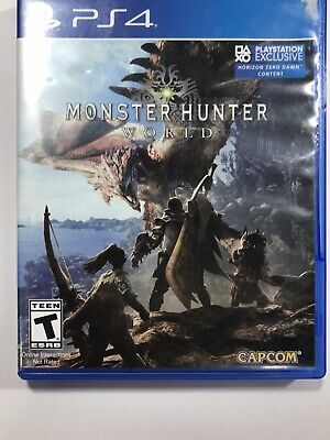 AU11.81 • Buy Monster Hunter World PS4