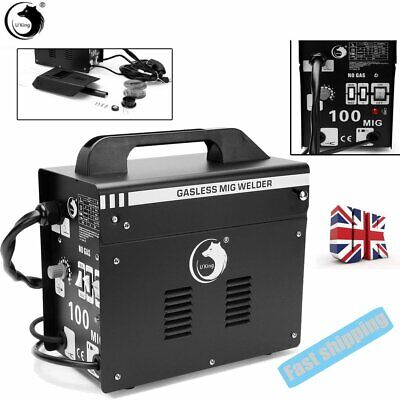Gasless Welder Professional No-Gas Mig Welding Machine Welder 240V With Mask UK • 78£