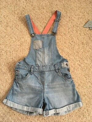 Girls Dungarees Shirts Age 11-12 152 Cm Years C&A Blue • 11.50£