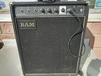 $ CDN245.90 • Buy Vintage RAM LR245 10 Watt Guitar Amp