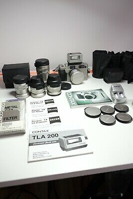 $ CDN4700 • Buy Contax G2 With 5 Lenses And Flash