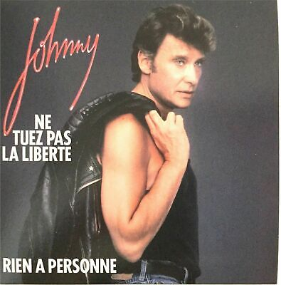 AU11.48 • Buy CD Single Johnny Hallyday   Ne Kill Pas La Liberty   Blister Pack New