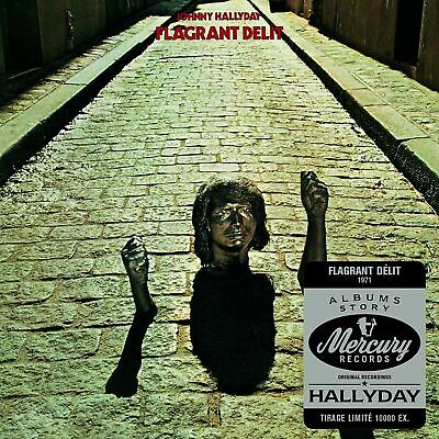 AU16.39 • Buy CD   Johnny Hallyday - Flagrante Delicto   Digipack Blister Pack New