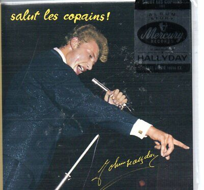 AU16.39 • Buy CD Johnny Hallyday   Salut Les Copains   Blister Pack New