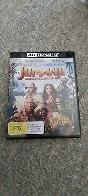 AU12 • Buy Jumanji - Welcome To The Jungle 4k UHD BLU RAY