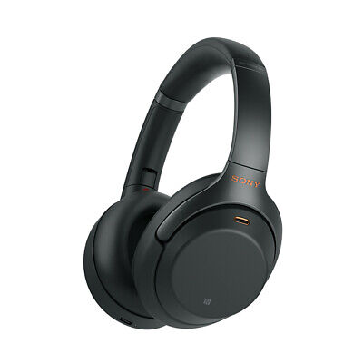 AU379 • Buy Sony - WH-1000XM4B - Wireless Noise Cancelling Headphones - Black