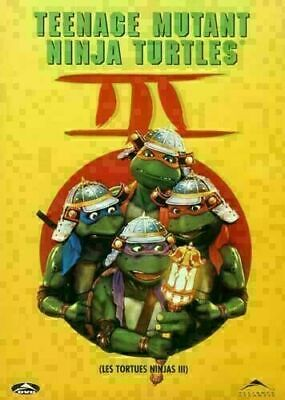 $ CDN10.50 • Buy Teenage Mutant Ninja Turtles Iii 3 -  Dvd - Brand New Sealed
