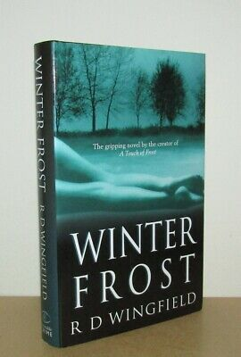 R D Wingfield - Winter Frost (DI Jack Frost) - 1st (1999 Constable First Ed DJ) • 9.95£
