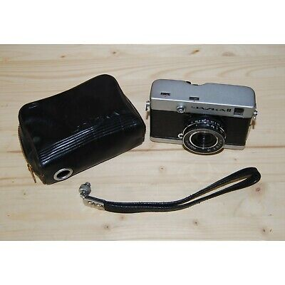 CHAIKA II Vintage Old Soviet Scale Film Camera USSR, Industar-69 2.8/28 • 21£