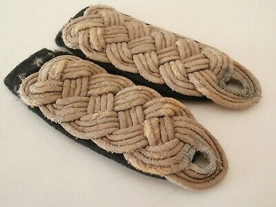 German Ww2 Majors/officers Pioneers Shoulder Boards • 40£