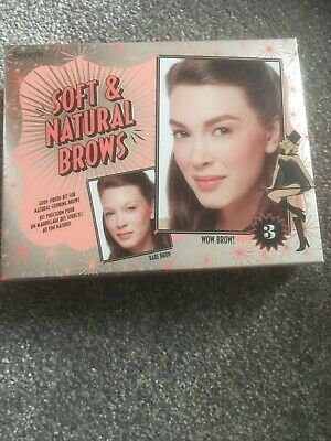 Benefit Soft & Natural Brows Goof Proof Kit Shade 3 Genuine And New In Box • 29.99£
