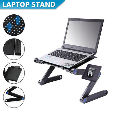 AU26.49 • Buy Adjustable Portable Foldable Laptop Stand Desk Table Tray Sofa Bed Mouse Pad