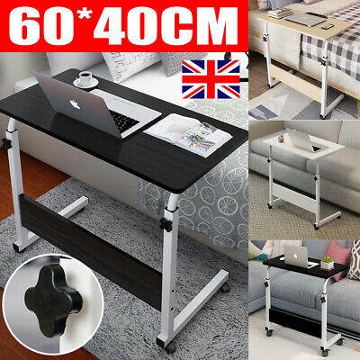 Notebook Computer Desk Adjustable Portable Laptop Table Trolley Sofa Bed Tray UK • 18.49£